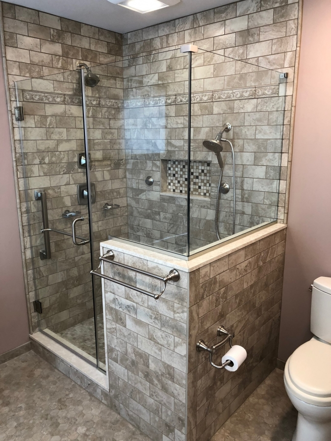 Master Bathroom Remodel in Mantua New Jersey | Ideal ...