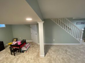 Basement Remodel in Turnersville, NJ