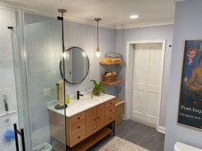 Luxury Bathroom Remodel in Wenonah, NJ
