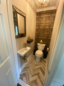 South Jersey Powder Room Remodeling