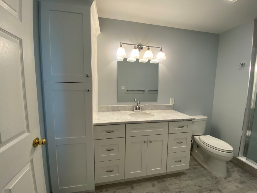 Two Bathroom Remodel in Ocean City New Jersey